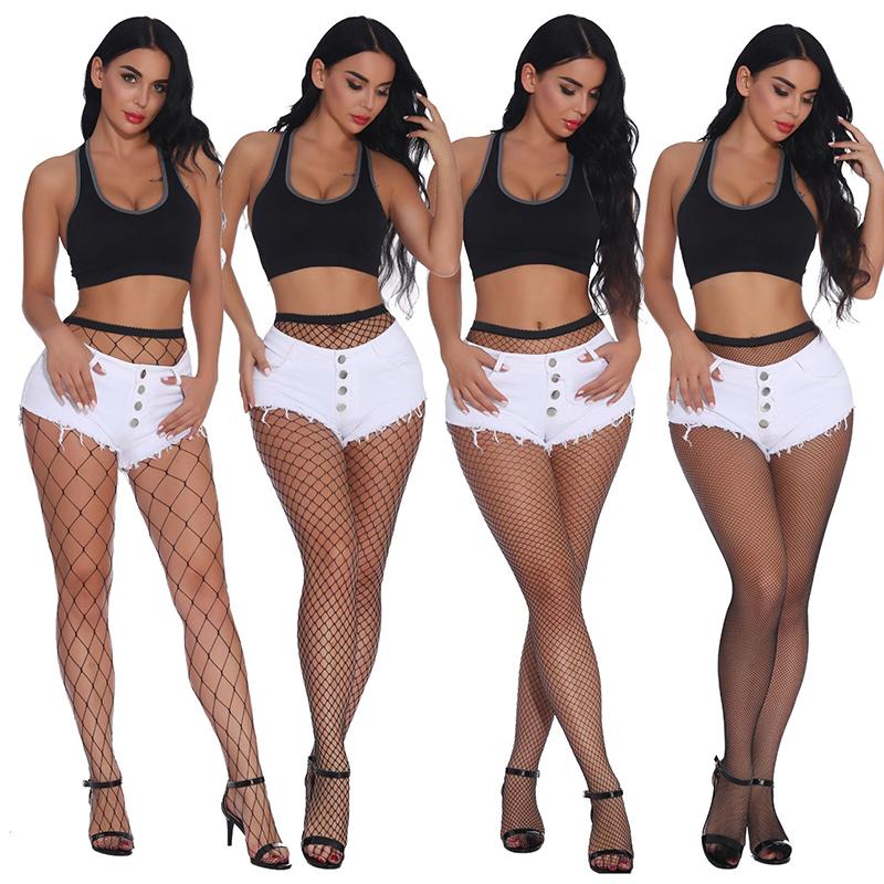 Fashion Women/'s Net Fishnet Bodystockings Pattern Pantyhose Tights Stockings MY
