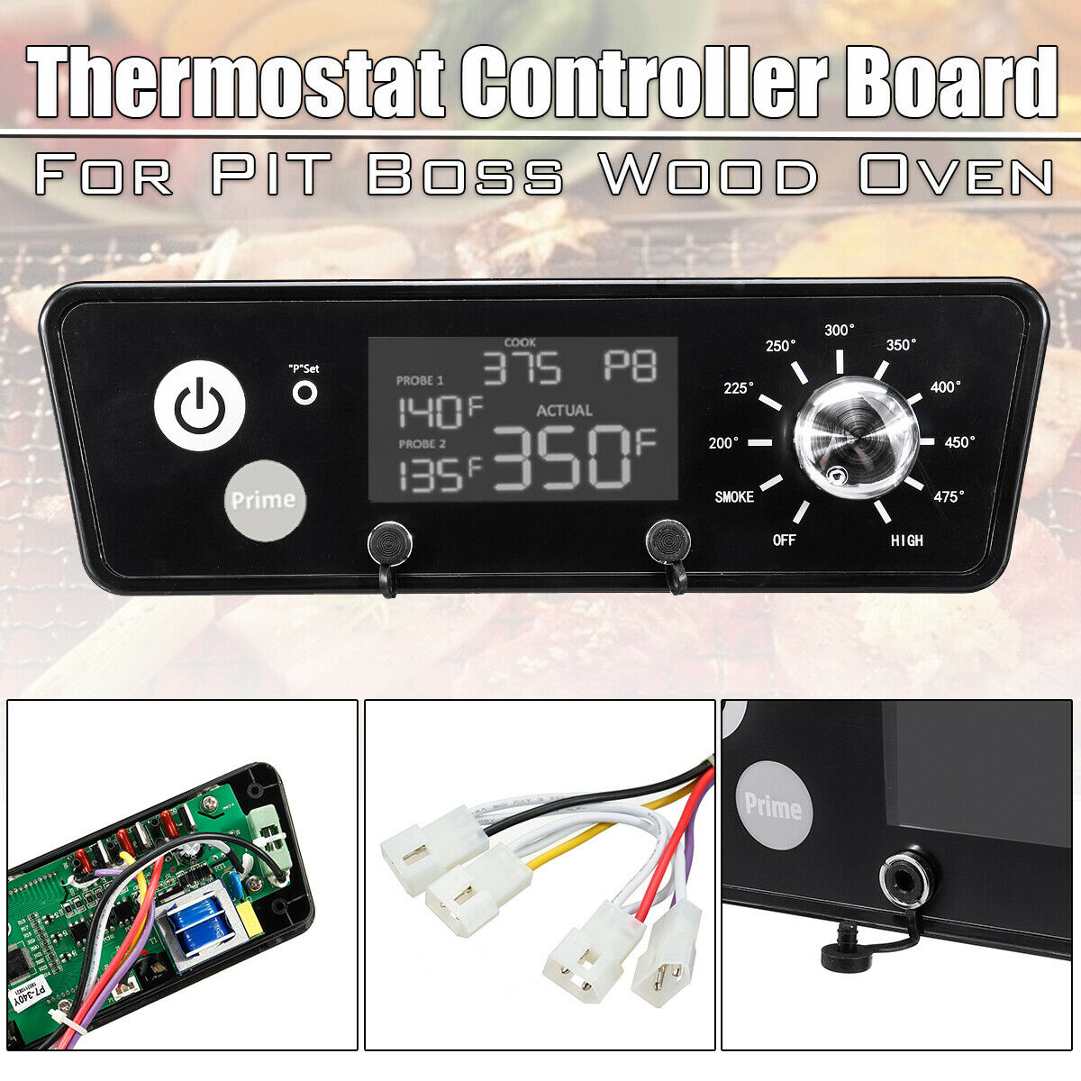 Digital Thermostat Controller Board LCD Display For Pit Boss PB7-3//4//5//7 `