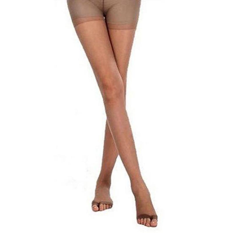 Fashion Women/'s Open Toe Sheer Hosiery Pantyhose Toeless Stockings Socks USA