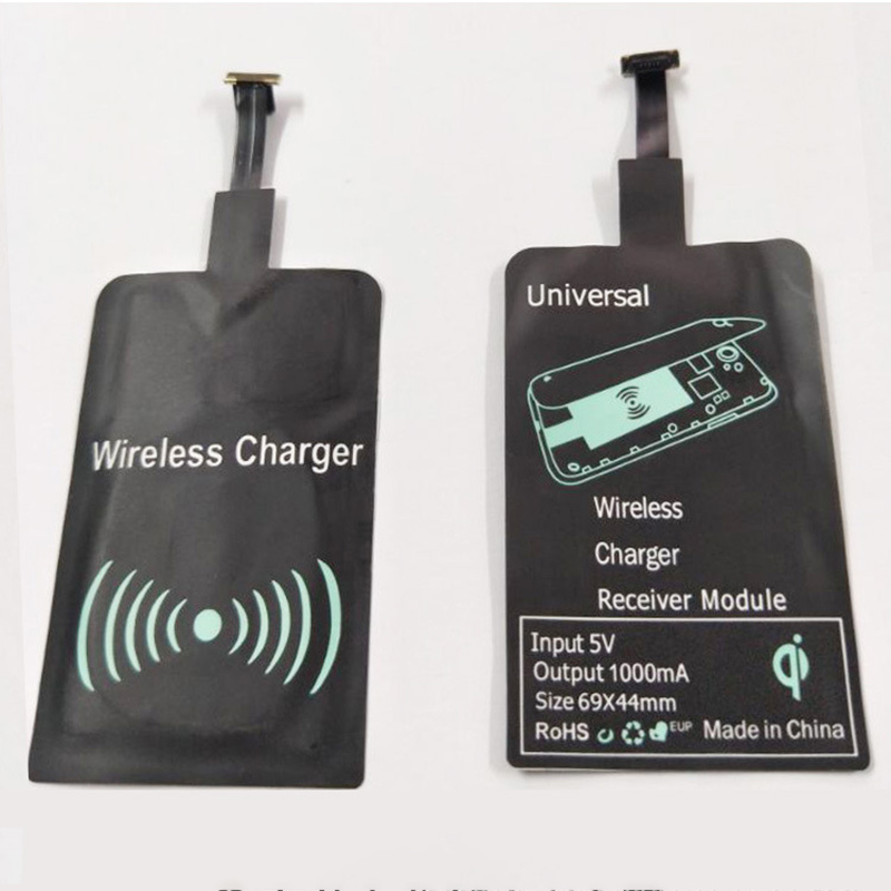 Qi Wireless Charger Adapter Charging Receiver For Iphone