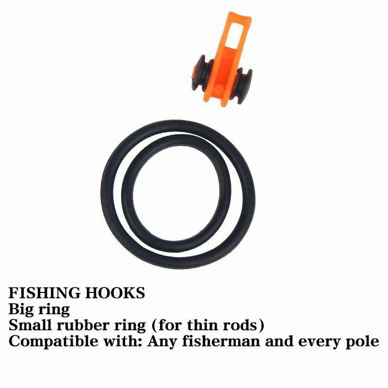 Plastic Fishing Hook Secure Keeper Holder Lure Accessories Jig Hooks Keeping
