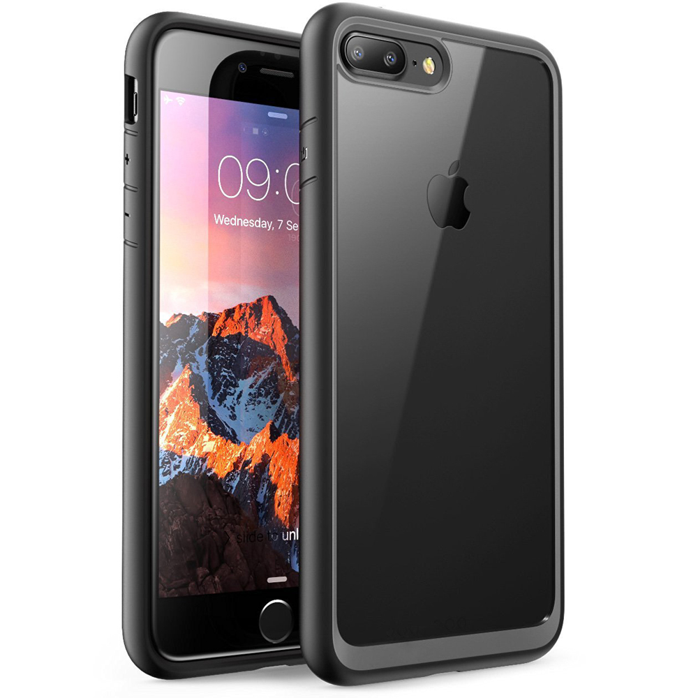 for iphone x 7 8 plus slim hybrid bumper shockproof case. Black Bedroom Furniture Sets. Home Design Ideas
