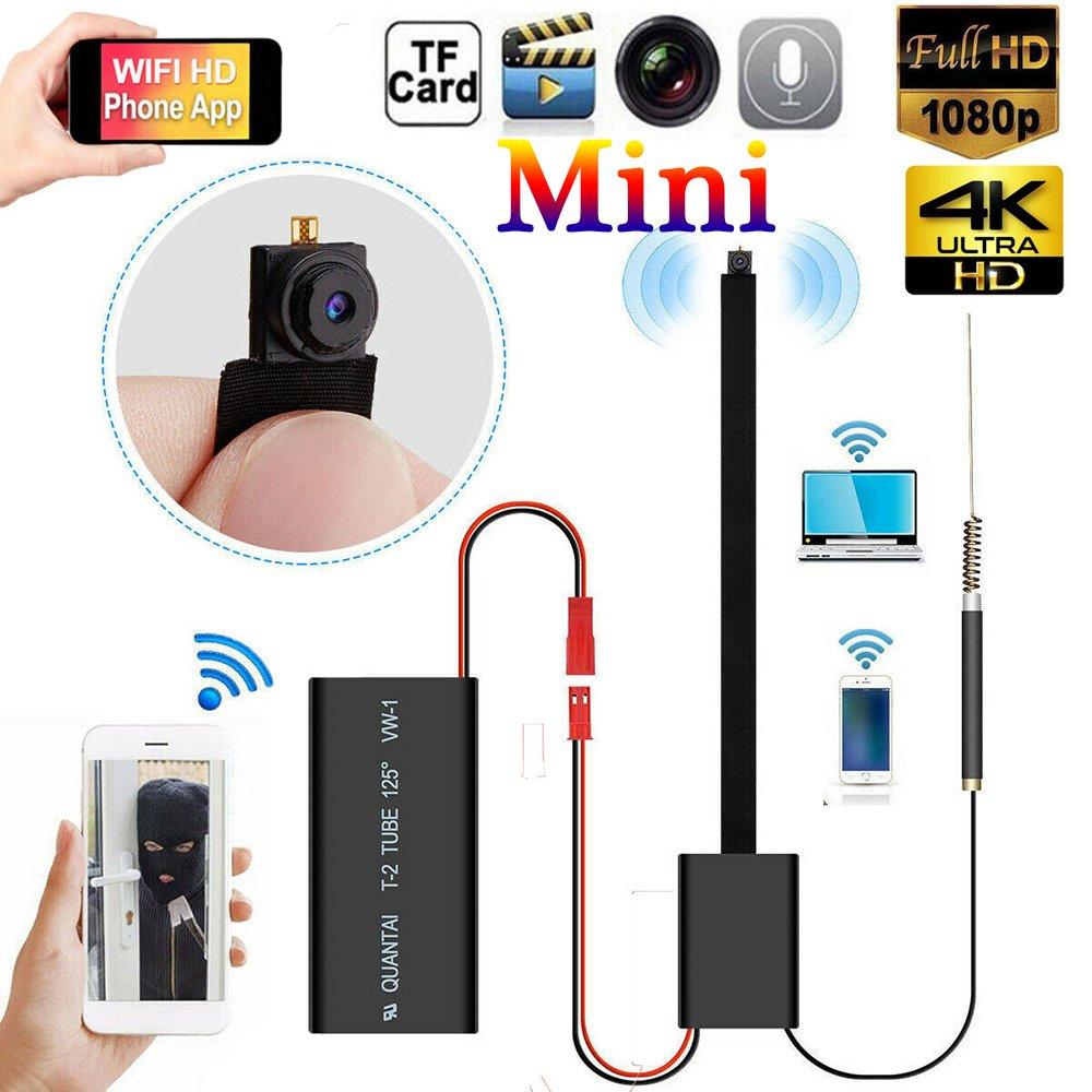 Wireless Mini IP Hidden Spy Camera WIFI HD 4K DIY Home ...
