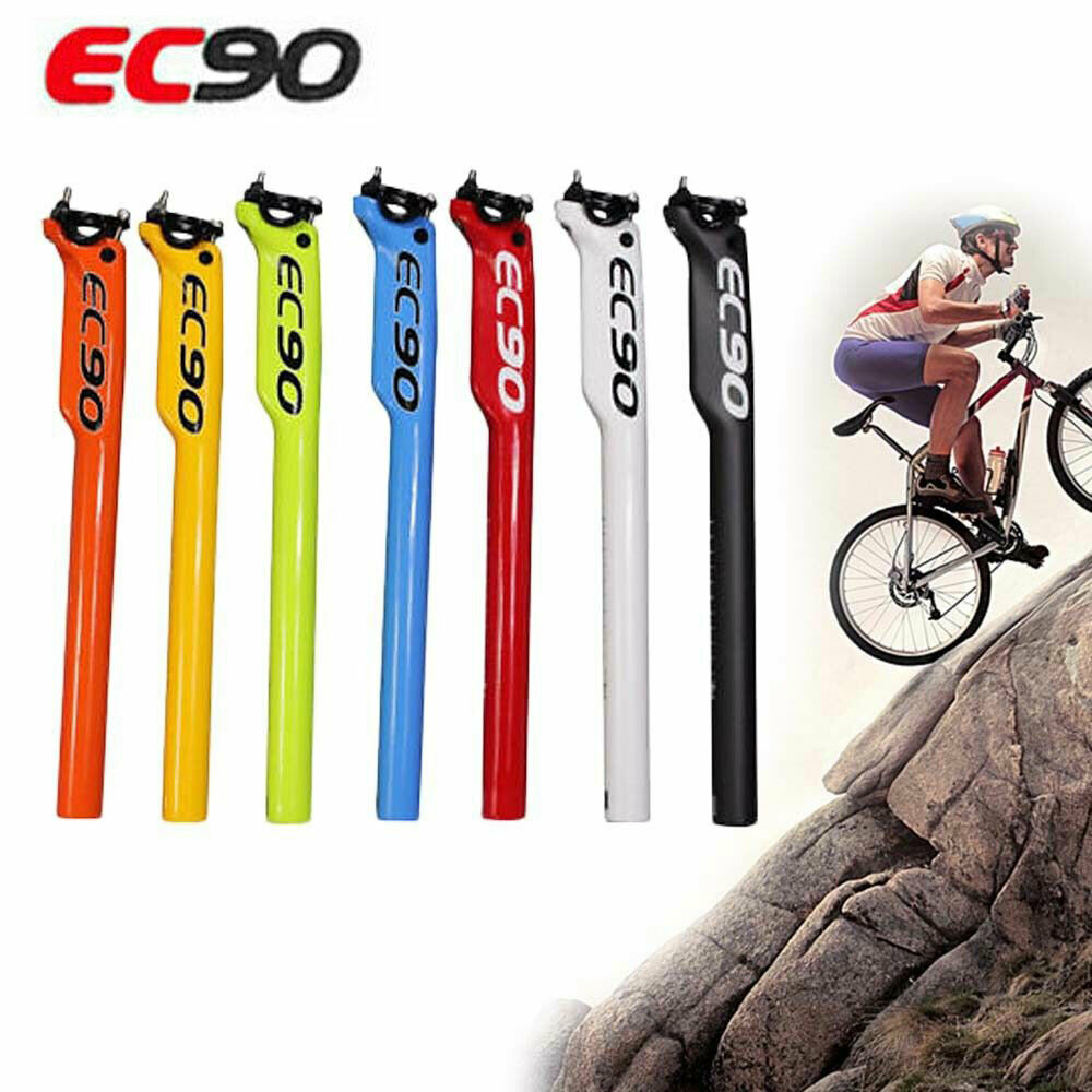Full Carbon Fiber MTB Road Bike Seatpost Lightweight Bicycle Seat Post Tube